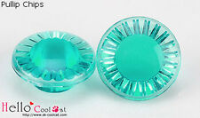 ☆╮Cool Cat╭☆【EB-11】Pullip/DAL/TY 20 Lines Acrylic Chips Green Series # Dark Cyan