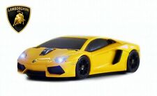 Lamborghini Aventador Wireless Car Mouse Yellow-Licensed-IDEAL FATHER'S DAY GIFT