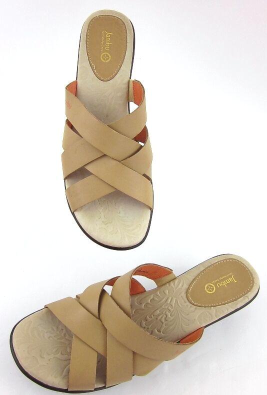 NEW  Jambu Lilly Lilly Lilly Platform Sandals Nude Tan Sz 11M 7c6c05