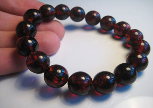 Natural Baltic Amber Bracelet 19 g !!!