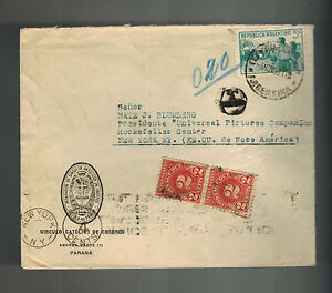 1939 Argentina Catholic Worker Circle Universal Picture USA Judaica Postage Due