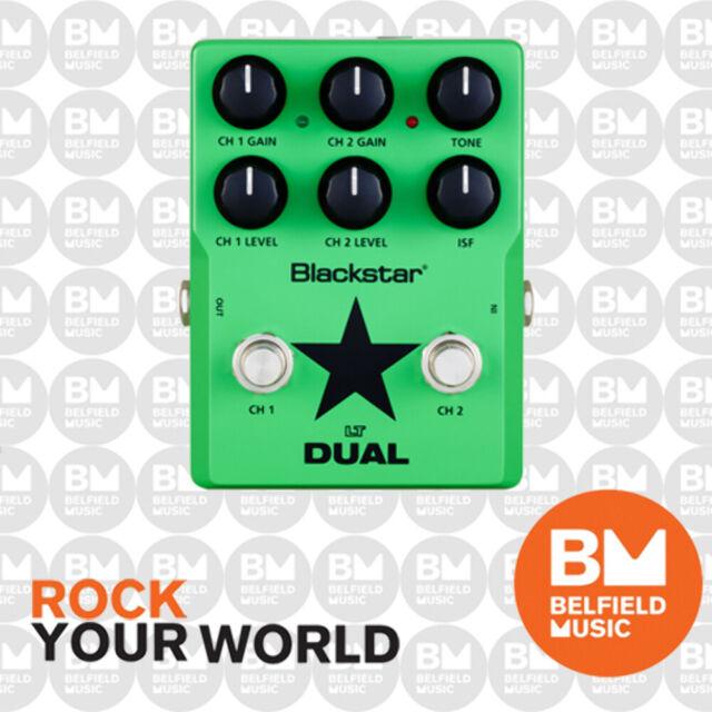 Blackstar LT DUAL Compact Dynamic 2-Channel Distortion Guitar Effects Pedal FX