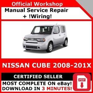 2012 nissan cube manual