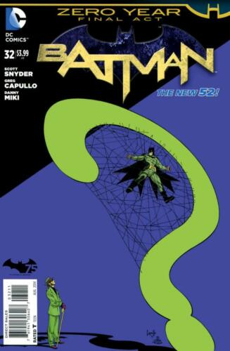 Batman #32 2014 Unltd Flat Rate Ship-Use Cart Zero Year 1st New 52 NM 9.4