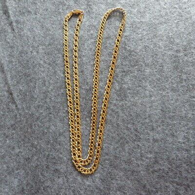 Ehrlich Massive Edle Goldkette Singapurkette 333 Gold 70 Cm Lang 5 Mm Breit 19 Gr. Neu
