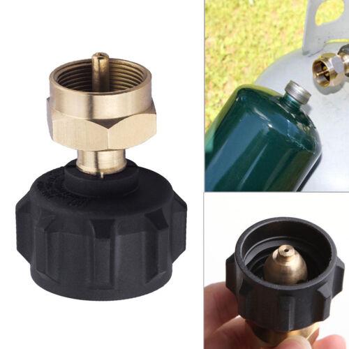 Refill Adapter LP Gas Cylinder Tank Coupler Regulator Valve for QCC1//Type1 Tank