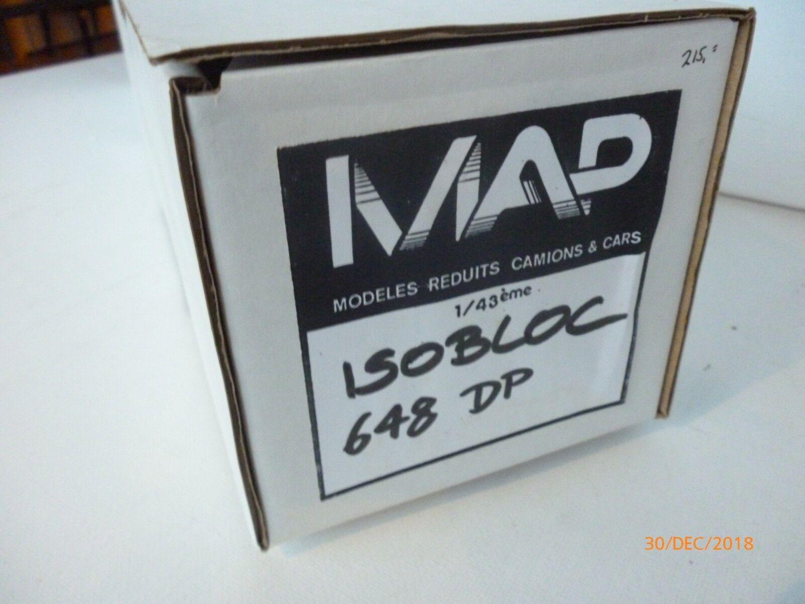 1 43 MAP RESIN UNBILT KIT ISOBLOC  BUS 648 DP ALL NEW IN BOX SELTEN