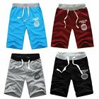Mens Casual Cotton Half Pant Shorts Summer Beach Pants Gym Trouser Sport Jogging