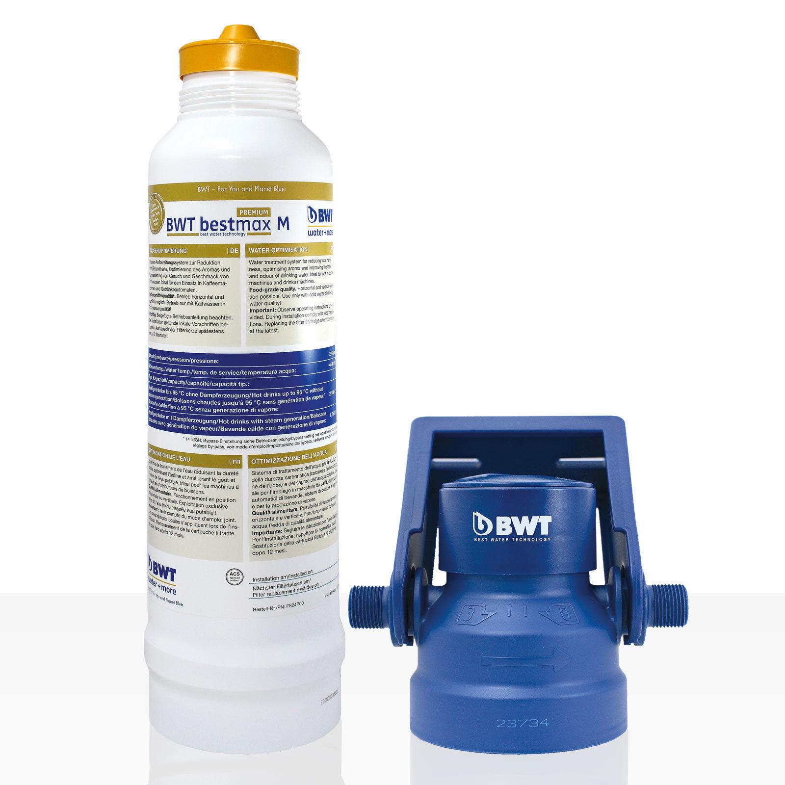 Bestmax M Premium Filtre Bougie + filterkopf, BWT Filtre à Eau, Environ 2700 L