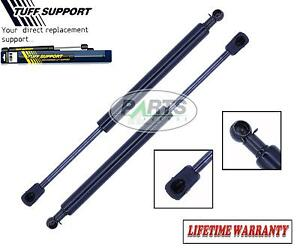 2 REAR TRUNK LID LIFT SUPPORTS SHOCKS STRUTS ARMS PROPS RODS DAMPER WITH SPOILER