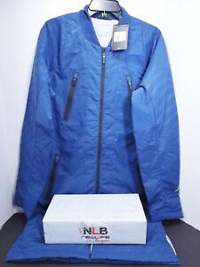 cce31bc24f7840 Nike Air Jordan Retro 12 Jumpman Blue Parka Bomber Jacket 724718-442 ...