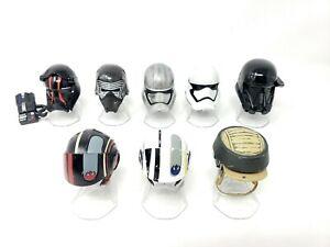 Star-Wars-Black-Series-Titanium-Helmet-Lot-Of-8-Death-Trooper-Tie-Pilot-Phasma