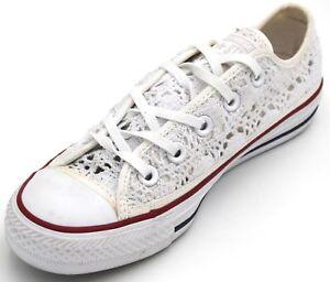 Donna Converse Art Sneaker Star Casual Tempo 549314c Scarpa Libero Difetto All PPEq64
