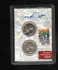 2017 Upper Deck Spiderman Coin CCP20 card autographed by Walt Simonson