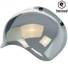 Biltwell Gringo / Bonanza Bubble Clip on Motorcycle Helmet Visor - Gold Mirror