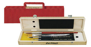 Da-Vinci-AQUARELL-MALPINSELSET-Serie-5260-Aquarellpinsel-Pinselschatulle