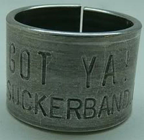 2 original GOTYA GOOSE leg band bands duck funny! hunt Sucker Band