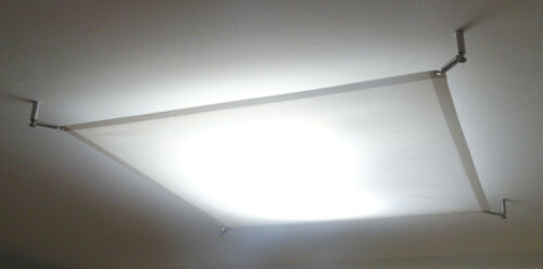 TEXTILES LED LICHTSEGEL 60x100 cm SCREENBASE LED-DECKENLEUCHTE HARDWARESET inkl.