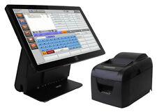 Touchscreen Kasse für Gastronomie mit Räumen. Kassensystem für Restaurant. GDPdU