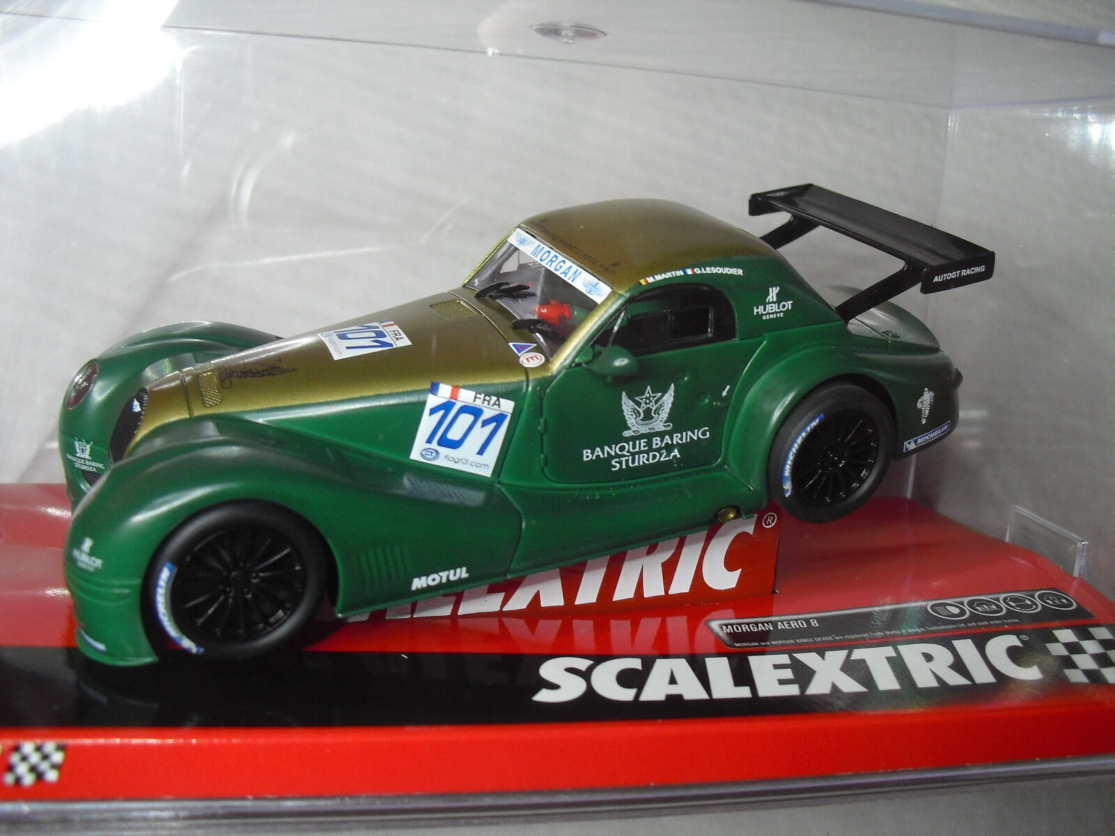LOT 41 SCALEXTRIC A10218S300 Morgan aeero 8 GT Martin 1 32 new