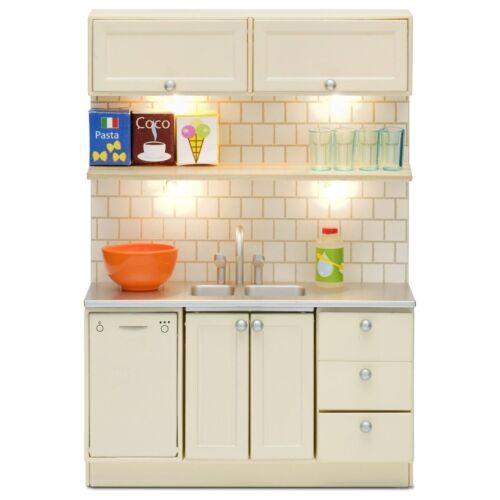 LUNDBY ™ 60.2094 Smaland évier /& Lave-vaisselle avec la lumière pour maison de poupée 1:18