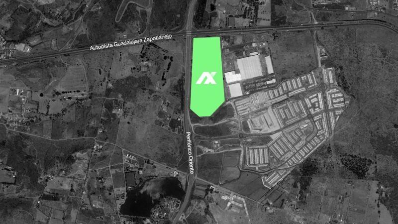 Terrenos en Venta Axis Centro Logistico Tonala Jalisco