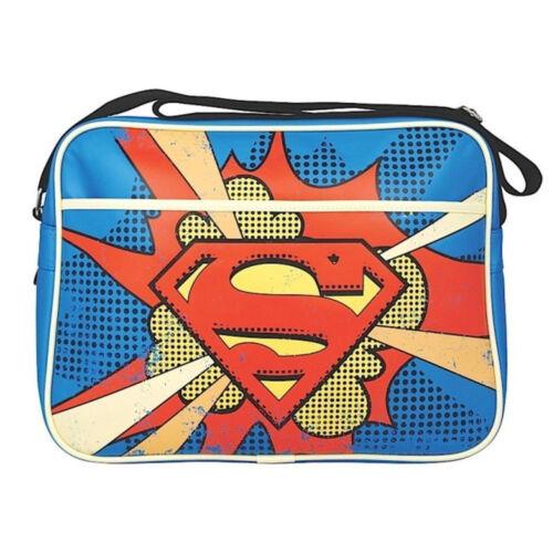 Officiel Superman Retro Messenger sac nouveau