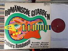 RUMÄNISCHE GITARREN DDR AMIGA LP: SINCRON MONDIAL ELECTRECORD-ORCHESTER