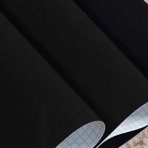 5M Velvet Sticker Fabric Self Adhesive Velour Wallpaper Jewel Display Background