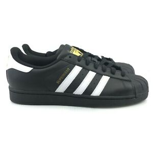 Details about Adidas Originals Men's Superstar Sneaker GOLD TONGUE, BlackWhite B27140