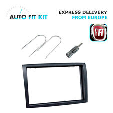 Fiat Ducato 2006- 2 Din Double Din Fascia Radio Stereo Replacement kit Install.