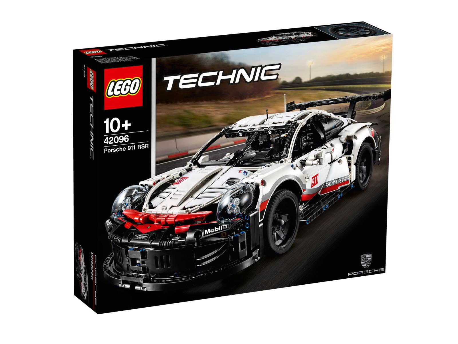 Lego Technic Porsche 911 rsr 42096 coche auto de carreras coche vehículo