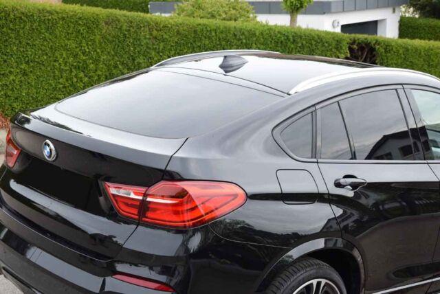 Tönungsfolie passgenau tiefschwarz 95/% BMW X4 F26 07//2014-02//2018