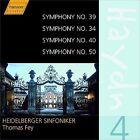 Haydn: Complete Symphonies, Vol. 4 - Nos. 39, 34, 40, 50 (CD, Feb-2004, Haenssler)