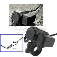 12v Waterproof Socket Motorbike Car Cigarette Lighter Adaptor USB Power Charger