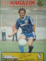 Programm 1988/89 1. FC Saarbrücken - SV Darmstadt