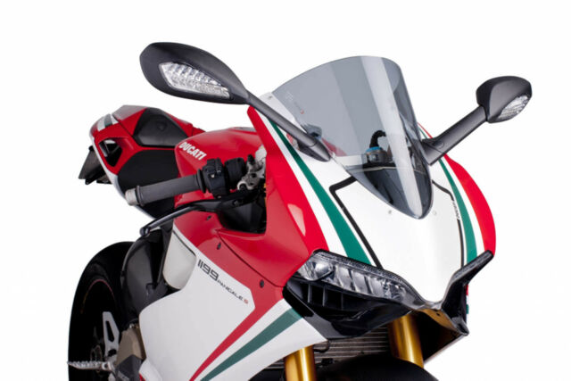 PUIG RACING SCREEN DUCATI 1199 PANIGALE 12-15 LIGHT SMOKE
