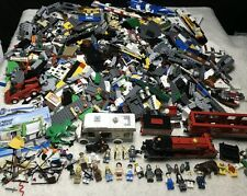 Huge lot of Lego 15 lbs Minifigs Figures Harry Potter Express Train Star Wars ++