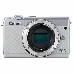 Canon-Mirrorless-Digital-Camera-EOS-M100-Body-Only-White-EMS-w-Tracking-NEW