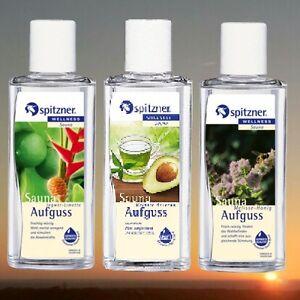 Spitzner-3teiliger-Saunaaufguss-Gruentee-Avocado-Ingwer-Limette-Melisse-Honig