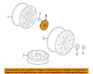 cadillac gm oem 10 16 srx wheel center cap hub cover 9599024 ebay rh ebay com Cadillac Stock Wheels Cadillac Stock Wheels