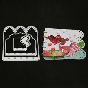 Stanzschablone-Herz-Weihnachts-Hochzeit-Geburtstag-Album-Karte-Einladung-Deko