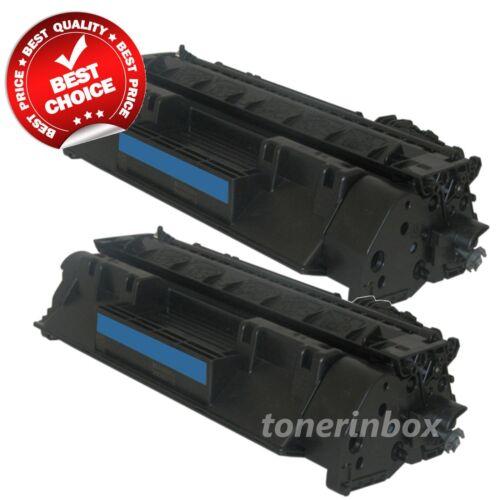 2PK Compatible Toner Cartridge for HP CE505A //05A LaserJet P2035 P2035n P2055