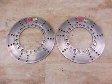 1982 Kawasaki KZ750 LTD KZ 750 K588' front brake rotor disc set pair