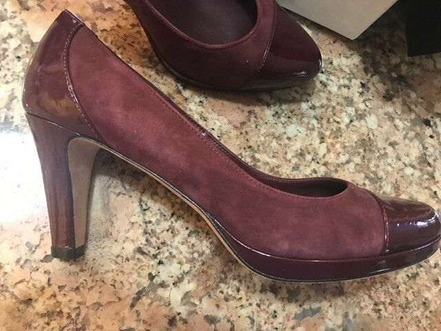 100% AUTHENTIC COLE HAAN PLATFORM 7B PUMP LADY'S Schuhe, SIZE 7B PLATFORM 65645a
