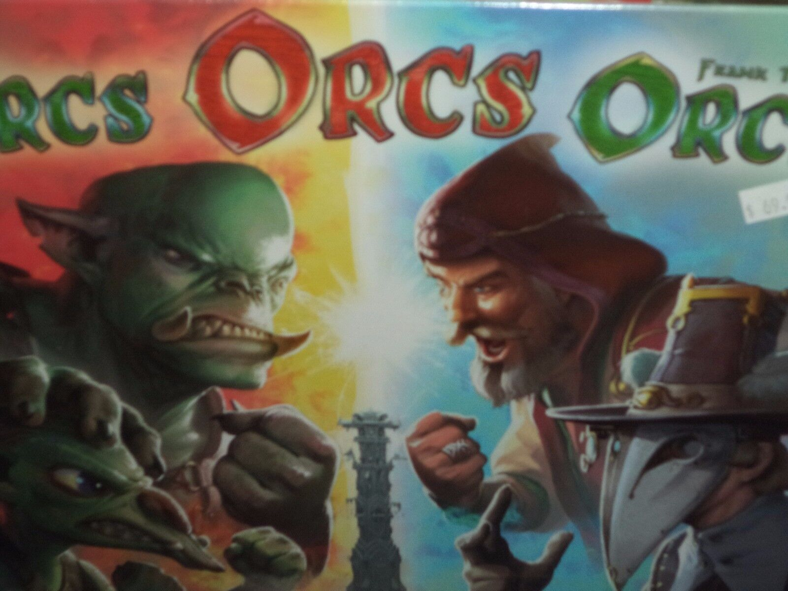 Orcs Orcs Orcs  - Queen Games Games Games Board Game New 526878