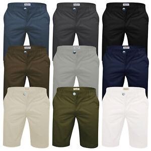 Mens-Chino-Shorts-Stallion-Cotton-Stretch-Golf-Half-Pant-Casual-Designer-New