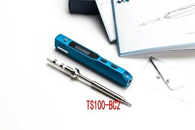2017 OLED Mini Portable 65W Digital Programmable TS100 Electric Soldering Iron