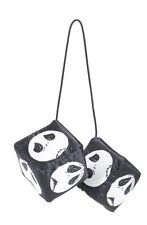 Disney The Nightmare Before Christmas Auto Car Ornament Mirror Dice Gift NWT!