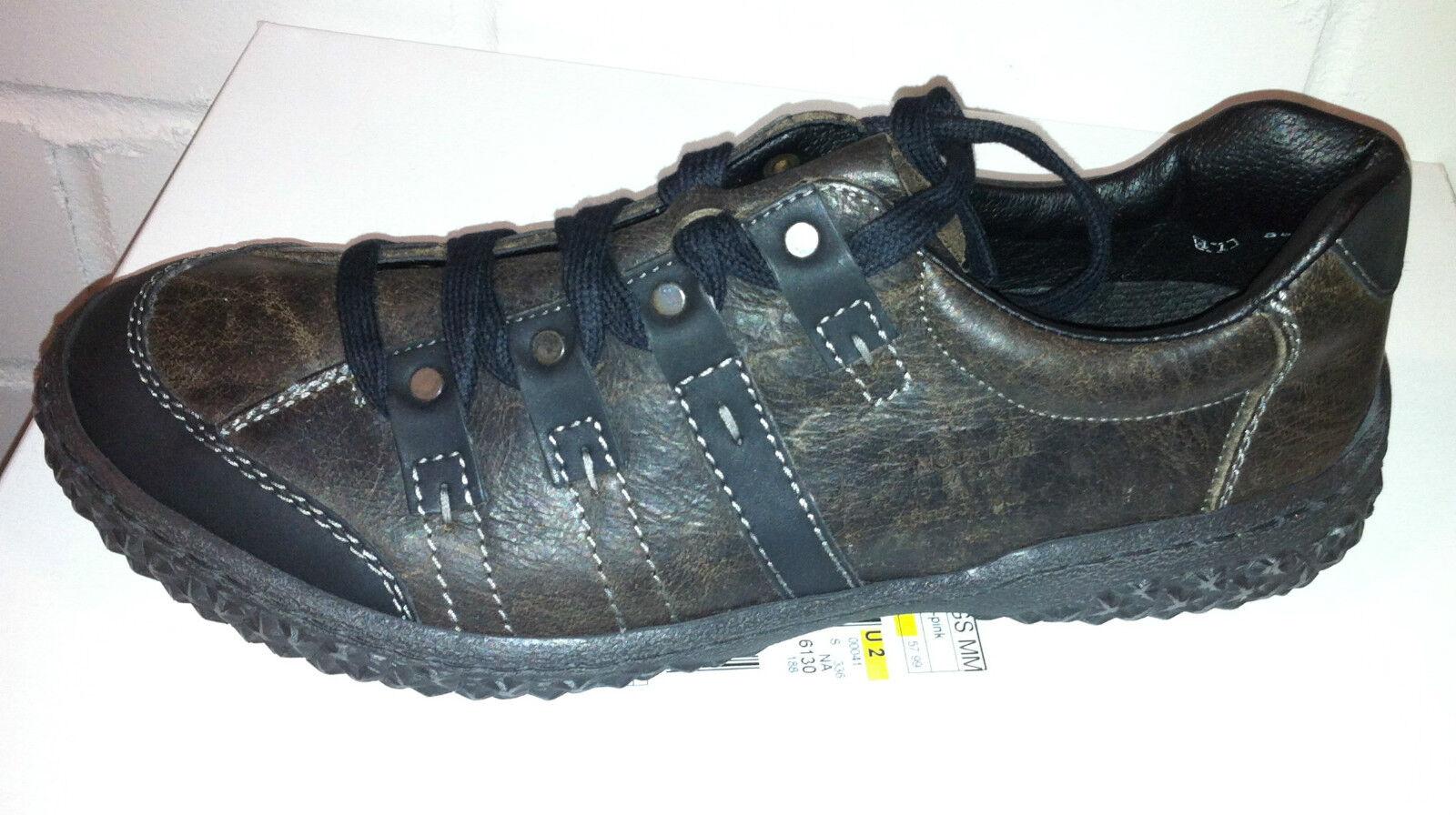 NEU  RIEKER Herrenschuhe Herrenschuhe RIEKER Sneakers Schnürer Halbschuhe EUR 41, dunkelbraun 8fb042